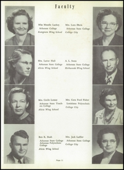 Page 15, 1952 Edition, Walnut Ridge High School - Bobcat Yearbook (Walnut Ridge, AR) online yearbook collection