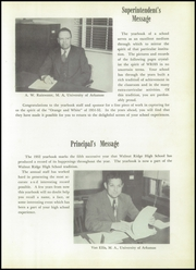 Page 9, 1952 Edition, Walnut Ridge High School - Bobcat Yearbook (Walnut Ridge, AR) online yearbook collection