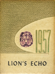 1957 Edition, Manila High School - Lions Echo Yearbook (Manila, AR)