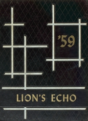1959 Edition, Manila High School - Lions Echo Yearbook (Manila, AR)