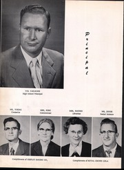 Page 10, 1955 Edition, Lincoln High School - Wolf Tracks Yearbook (Lincoln, AR) online yearbook collection