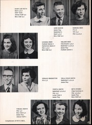 Page 17, 1955 Edition, Lincoln High School - Wolf Tracks Yearbook (Lincoln, AR) online yearbook collection