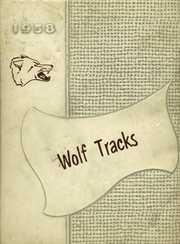 1958 Edition, Lincoln High School - Wolf Tracks Yearbook (Lincoln, AR)