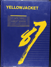 1987 Edition, Mountain View High School - Yellowjacket Yearbook (Mountain View, AR)