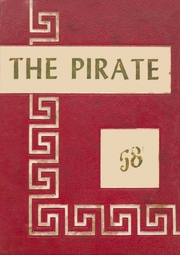 1958 Edition, Drew Central High School - Pirate Yearbook (Monticello, AR)