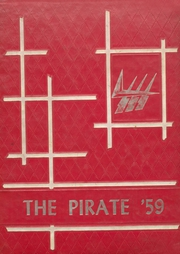 1959 Edition, Drew Central High School - Pirate Yearbook (Monticello, AR)