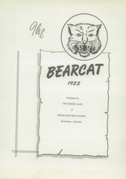 Page 7, 1953 Edition, Brookland High School - Bearcat Yearbook (Brookland, AR) online yearbook collection
