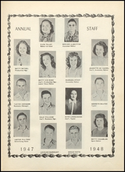 Page 7, 1948 Edition, Harmony Grove High School - Hornet Yearbook (Camden, AR) online yearbook collection