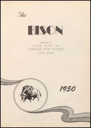 Page 7, 1950 Edition, Carlisle High School - Bison Yearbook (Carlisle, AR) online yearbook collection
