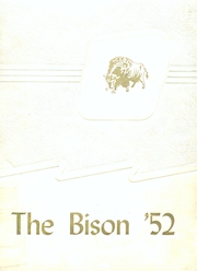1952 Edition, Carlisle High School - Bison Yearbook (Carlisle, AR)