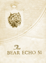 Page 1, 1951 Edition, Bearden High School - Bear Echo Yearbook (Bearden, AR) online yearbook collection