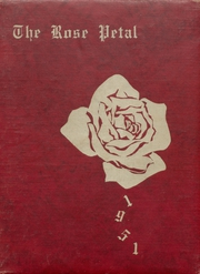 Glen Rose High School - Rose Petal Yearbook (Malvern, AR) online yearbook collection, 1951 Edition, Page 1