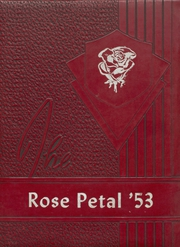 Page 1, 1953 Edition, Glen Rose High School - Rose Petal Yearbook (Malvern, AR) online yearbook collection
