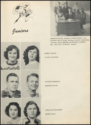 Page 17, 1953 Edition, Glen Rose High School - Rose Petal Yearbook (Malvern, AR) online yearbook collection