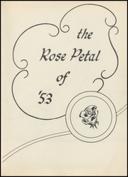Page 7, 1953 Edition, Glen Rose High School - Rose Petal Yearbook (Malvern, AR) online yearbook collection
