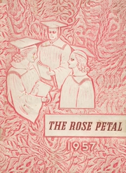 Glen Rose High School - Rose Petal Yearbook (Malvern, AR) online yearbook collection, 1957 Edition, Page 1