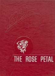 Glen Rose High School - Rose Petal Yearbook (Malvern, AR) online yearbook collection, 1959 Edition, Page 1