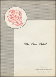 Page 5, 1959 Edition, Glen Rose High School - Rose Petal Yearbook (Malvern, AR) online yearbook collection