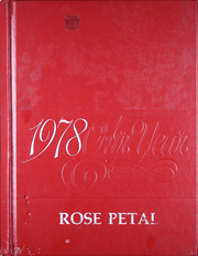 Glen Rose High School - Rose Petal Yearbook (Malvern, AR) online yearbook collection, 1978 Edition, Page 1