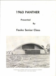 Page 5, 1963 Edition, Fouke High School - Panther Yearbook (Fouke, AR) online yearbook collection