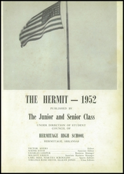 Page 5, 1952 Edition, Hermitage High School - Hermit Yearbook (Hermitage, AR) online yearbook collection