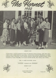 Page 7, 1952 Edition, Hazen High School - Hornet Yearbook (Hazen, AR) online yearbook collection