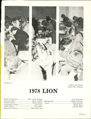 Page 5, 1978 Edition, Mount Ida High School - Lion Yearbook (Mount Ida, AR) online yearbook collection