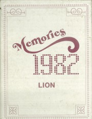 Mount Ida High School - Lion Yearbook (Mount Ida, AR) online yearbook collection, 1982 Edition, Page 1