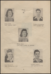 Page 8, 1946 Edition, Bradford High School - Eagle Yearbook (Bradford, AR) online yearbook collection
