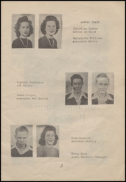 Page 9, 1946 Edition, Bradford High School - Eagle Yearbook (Bradford, AR) online yearbook collection