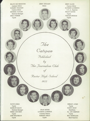Page 5, 1955 Edition, Rector High School - Cats Paw Yearbook (Rector, AR) online yearbook collection