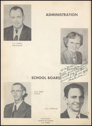 Page 8, 1956 Edition, Bradley High School - Bear Yearbook (Bradley, AR) online yearbook collection