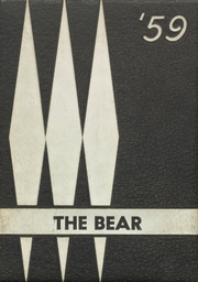 Page 1, 1959 Edition, Bradley High School - Bear Yearbook (Bradley, AR) online yearbook collection