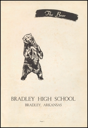 Page 5, 1959 Edition, Bradley High School - Bear Yearbook (Bradley, AR) online yearbook collection