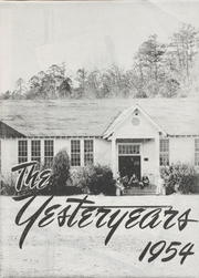 Page 1, 1954 Edition, Mountain Pine High School - Yesteryears Yearbook (Mountain Pine, AR) online yearbook collection