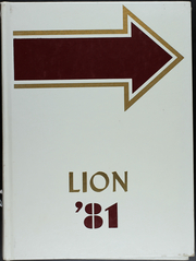 Leachville High School - Lion Yearbook (Leachville, AR) online yearbook collection, 1981 Edition, Page 1