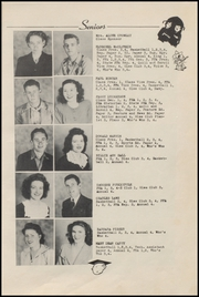 Page 11, 1946 Edition, Mulberry High School - Yellowjacket Yearbook (Mulberry, AR) online yearbook collection
