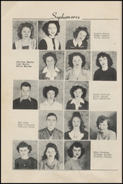 Page 16, 1946 Edition, Mulberry High School - Yellowjacket Yearbook (Mulberry, AR) online yearbook collection