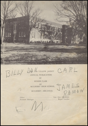 Page 7, 1948 Edition, Mulberry High School - Yellowjacket Yearbook (Mulberry, AR) online yearbook collection