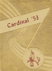 1953 Edition, Harmony Grove High School - Cardinal Yearbook (Benton, AR)
