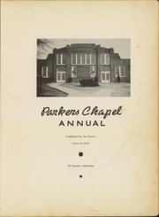 Page 7, 1950 Edition, Parkers Chapel High School - Trojan Yearbook (El Dorado, AR) online yearbook collection