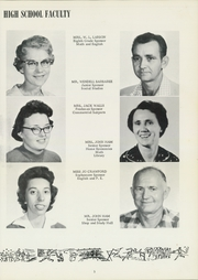 Page 7, 1961 Edition, Parkers Chapel High School - Trojan Yearbook (El Dorado, AR) online yearbook collection