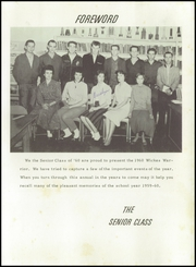 Page 13, 1960 Edition, Wickes High School - Warrior Yearbook (Wickes, AR) online yearbook collection