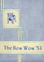 Page 1, 1953 Edition, Waldo High School - Bow Wow Yearbook (Waldo, AR) online yearbook collection