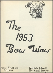 Page 7, 1953 Edition, Waldo High School - Bow Wow Yearbook (Waldo, AR) online yearbook collection