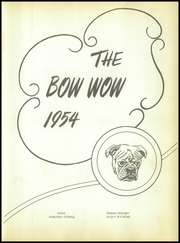 Page 5, 1954 Edition, Waldo High School - Bow Wow Yearbook (Waldo, AR) online yearbook collection