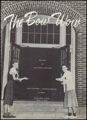 Page 5, 1955 Edition, Waldo High School - Bow Wow Yearbook (Waldo, AR) online yearbook collection