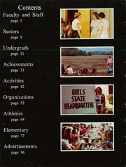Page 7, 1981 Edition, Caddo Hills High School - Warrior Yearbook (Norman, AR) online yearbook collection
