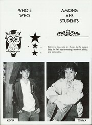 Page 12, 1987 Edition, Amity High School - Reflector Yearbook (Amity, AR) online yearbook collection
