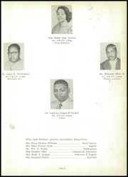 Page 13, 1952 Edition, Washington High School - Hornet Yearbook (El Dorado, AR) online yearbook collection